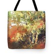 Fire Season Tote Bag by Kris Parins