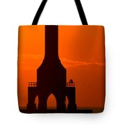 Fire Sky Single Tote Bag