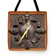 Fire Station Clock Tote Bag