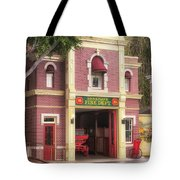 Fire Station Main Street Disneyland 02 Tote Bag
