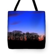 Fire Tower Watch In The Distance Tote Bag