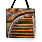 Fire Truck Grill Tote Bag