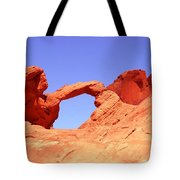 Fire Valley Arch Tote Bag