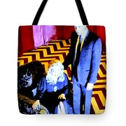 Fire Walk With Me Tote Bag by Ludzska