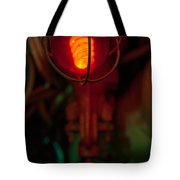 Fire Warning Tote Bag