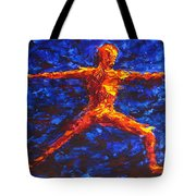 Fire Warrior Tote Bag
