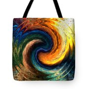 Fire Water Tote Bag