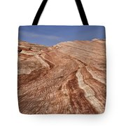 Fire Wave - Valley Of Fire Tote Bag