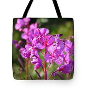 Fire  Weed 3 Tote Bag