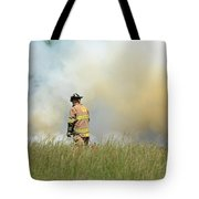 Firefighter 55 Tote Bag