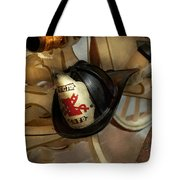 Firefighter - Somewhere To Hang Hat  Tote Bag