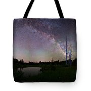 Fireflies Under The Stars Tote Bag