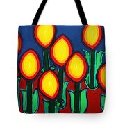 Fireflowers Tote Bag