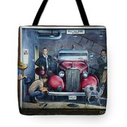 Firehall Mural Sultan Washington 1 Tote Bag