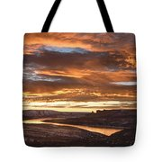 Firehole Sunset Tote Bag