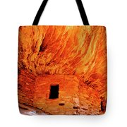 Firehouse Ruins Tote Bag
