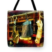 Fireman - Boots And Fire Gear Tote Bag
