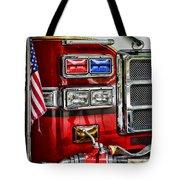 Fireman - Fire Engine Tote Bag