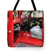 Fireman - Fire Truck With Fireman's Uniform Tote Bag