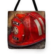 Fireman - Hat - A Childhood Dream Tote Bag
