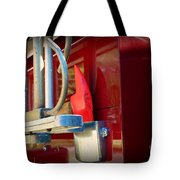 Fireman Hook And Ladder Tote Bag
