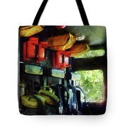 Fireman - Inside The Fire Truck Tote Bag