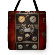 Fireman - Keep An Eye On The Pressure  Tote Bag by Mike Savad
