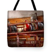 Fireman - Ladder Company 1 Tote Bag by Mike Savad