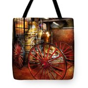 Fireman - One Day A Long Time Ago  Tote Bag
