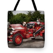 Fireman - Phoenix No2 Stroudsburg Pa 1923  Tote Bag by Mike Savad