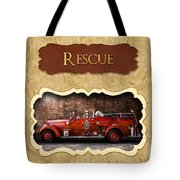 Fireman - Rescue - Police Tote Bag by Mike Savad