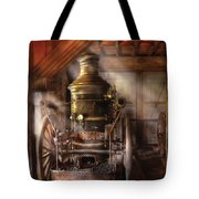 Fireman - Steam Powered Water Pump Tote Bag