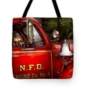 Fireman - This Is My Truck Tote Bag