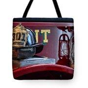 Firemen - Fire Helmet Lieutenant Tote Bag