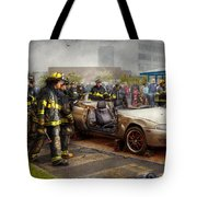 Firemen - The Fire Demonstration Tote Bag
