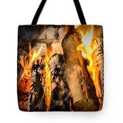 Fireplace II Tote Bag
