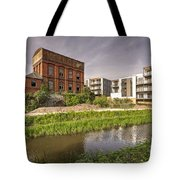 Firepool Water Tower  Tote Bag
