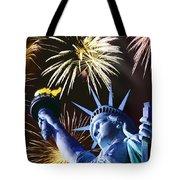 Fires Of Liberty Tote Bag