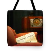 Fireside Chats With Fdr 01 Tote Bag