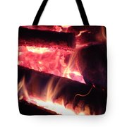 Fireside - Close-up Tote Bag