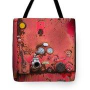 Firetruck Red Tote Bag
