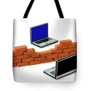 Firewall Protection For Laptops Tote Bag