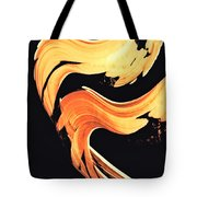 Firewater 5 - Abstract Art By Sharon Cummings Tote Bag