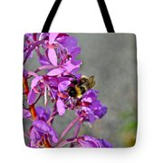 Fireweed Bee Tote Bag