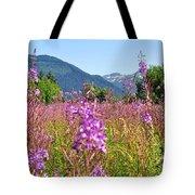 Fireweed Field Tote Bag