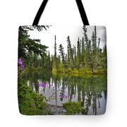 Fireweed On The Clearwater Tote Bag