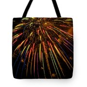Firework Indian Headdress Tote Bag