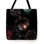 Colorful Explosions No2 Tote Bag