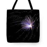Fireworks 1 Tote Bag by Sandy Swanson