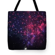 Fireworks 2014 Vi Tote Bag